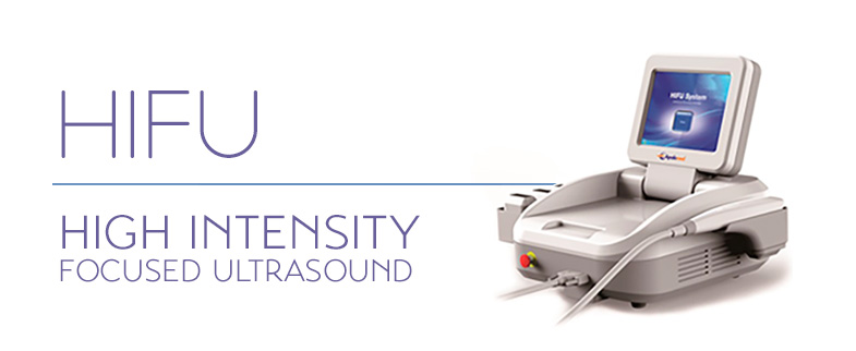 HIFU is a safe, ultrasound treatment designed for anti-ageing